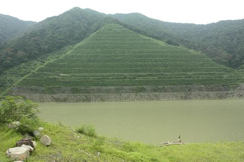 20100816アクアリウム休日(流木採集)ダム2.JPG