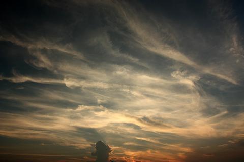 20100913黄昏の日(空)夕焼け1.JPG