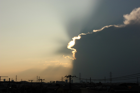 20100913黄昏の日(空)夕焼け2.JPG