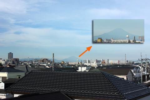 20100913黄昏の日(空)富士山.JPG