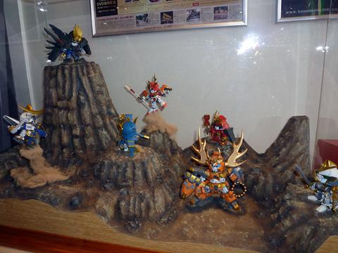 20101024戦国EXPO(SDガンダム)戦国モチーフガンダムレイアウト.JPG