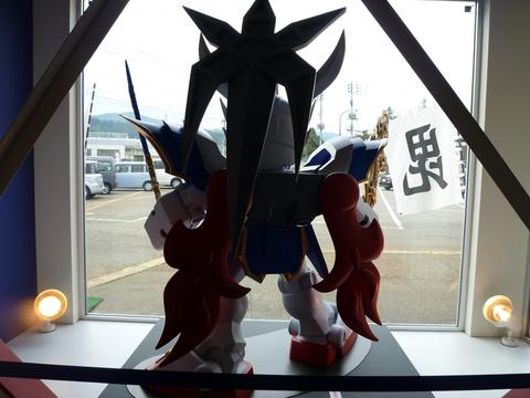 20101024戦国EXPO(SDガンダム)戦国モチーフガンダム背面.JPG
