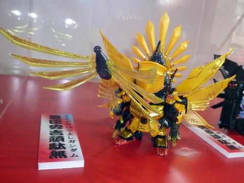 20101024戦国EXPO(SDガンダム)戦国モチーフガンダム豊臣秀吉.JPG