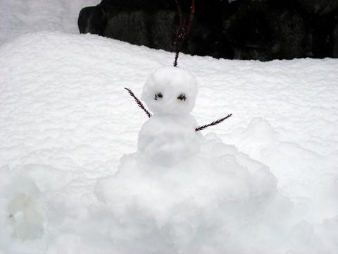 20101226アクアリウム(クリスマス)雪だるま.JPG